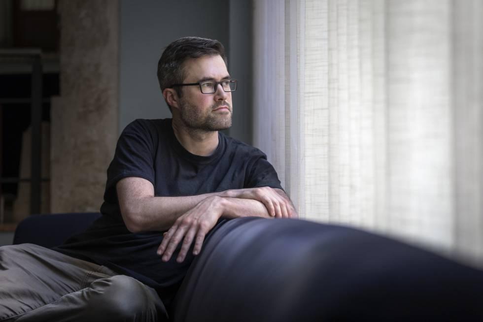 Mark Bray, intelectual teórico del antifascismo, en Valencia.