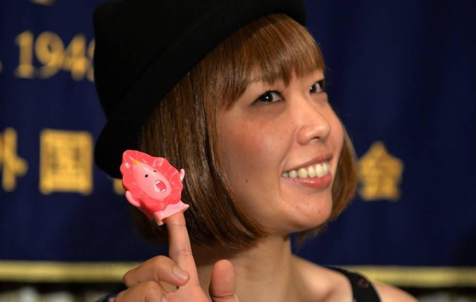 Rokudenashiko, en un momento de 'Placer femenino'.