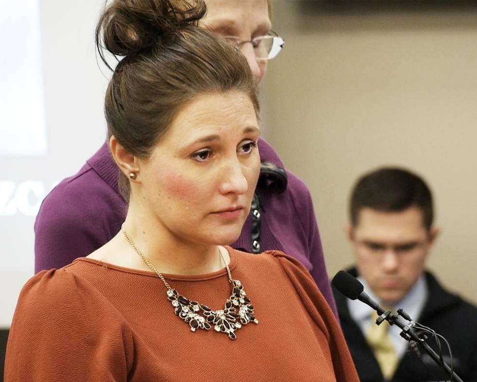 Trinea Gonczar, cuya familia era amiga de Nassar, al atestiguar en el juicio que abusó de ella 800 veces