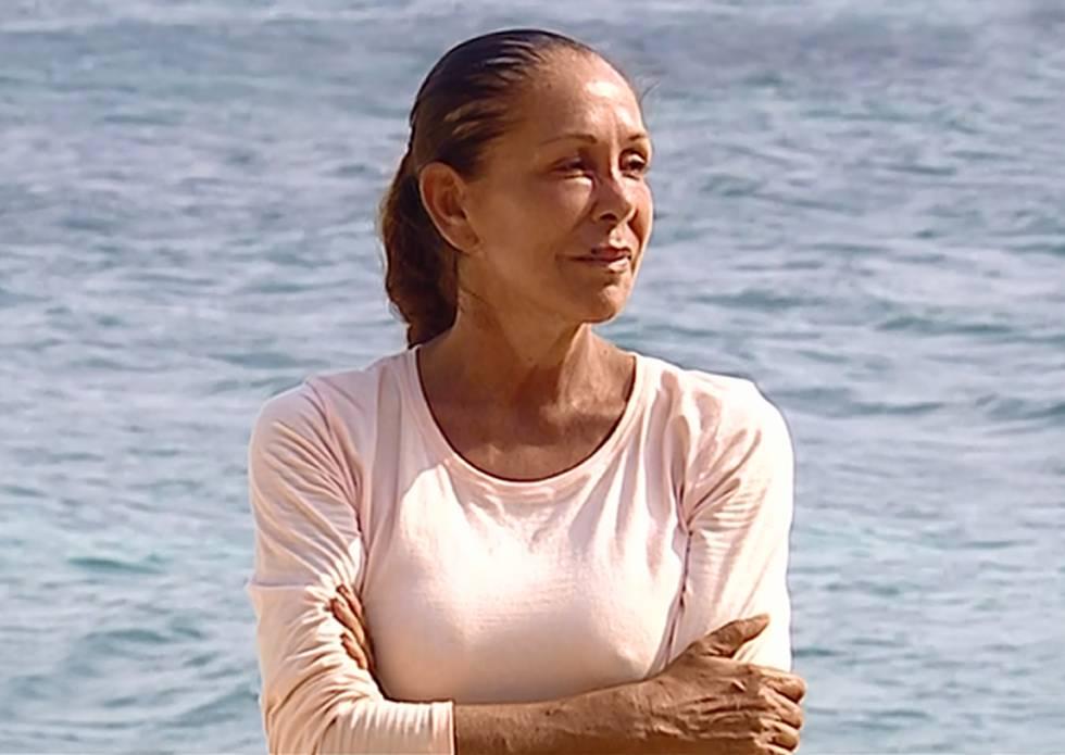 Isabel Pantoja, en la isla de 'Supervivientes'