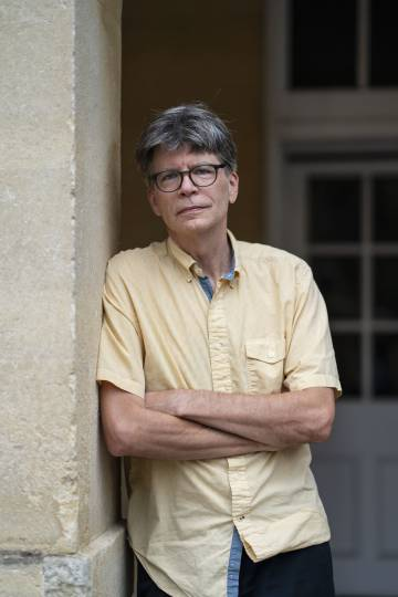 O escritor Richard Powers.