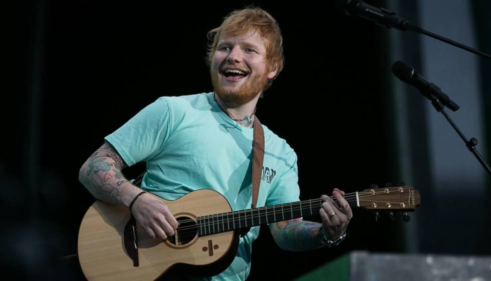 Concierto de Ed Sheeran en el Estadio Olímpico de Barcelona.