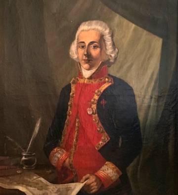 Retrato del brigadier Rosendo Porlier, de autor desconocido, en torno al año 1800.
