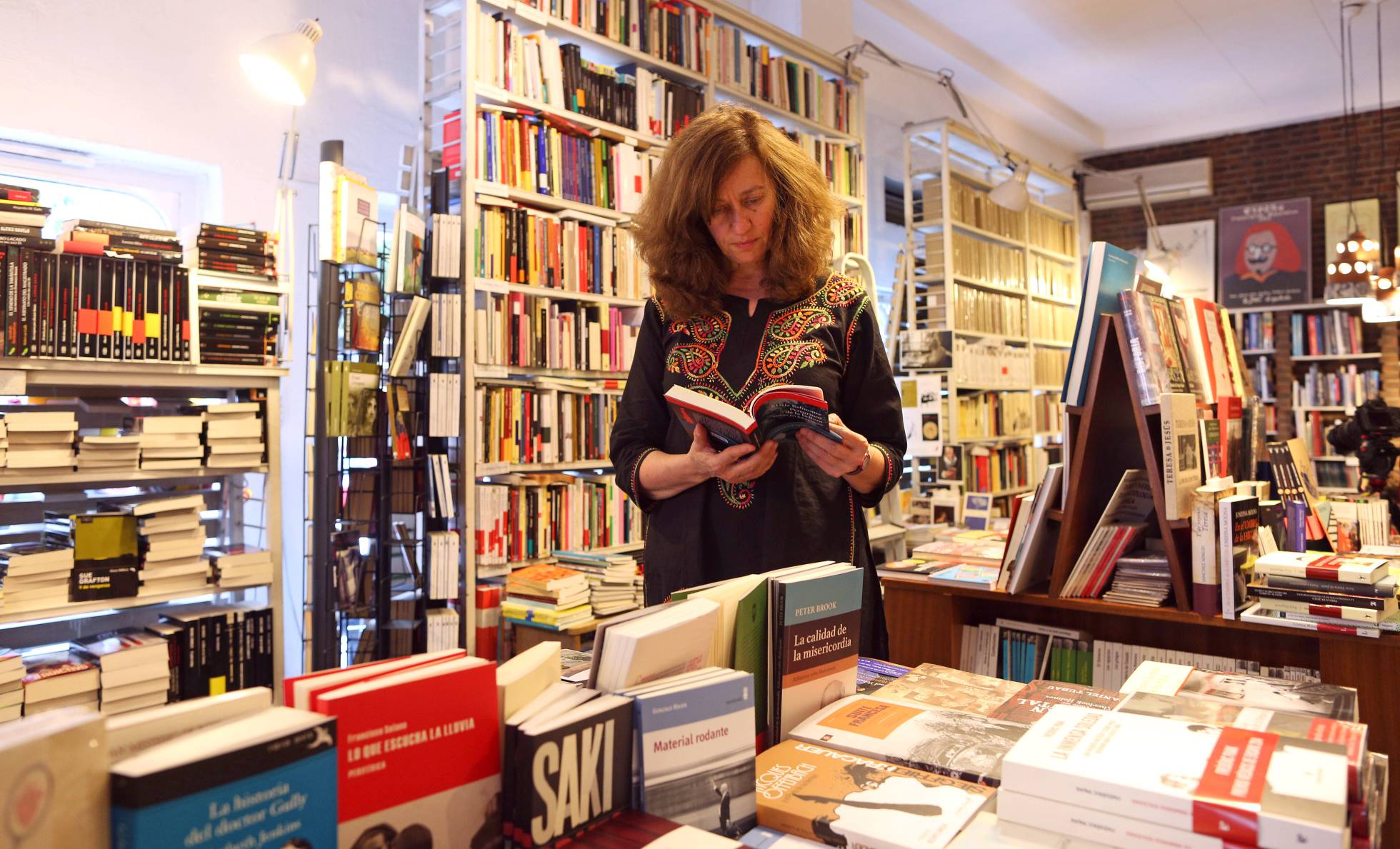 Librería Alberti Madrid en El País