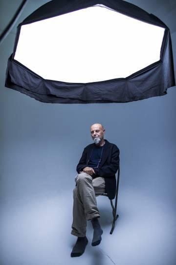 El director de fotografía Luca Bigazzi, en Madrid.