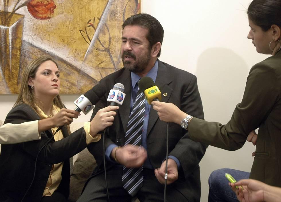El diputado y presentador Souza cuando saltó la sospecha en 2009.