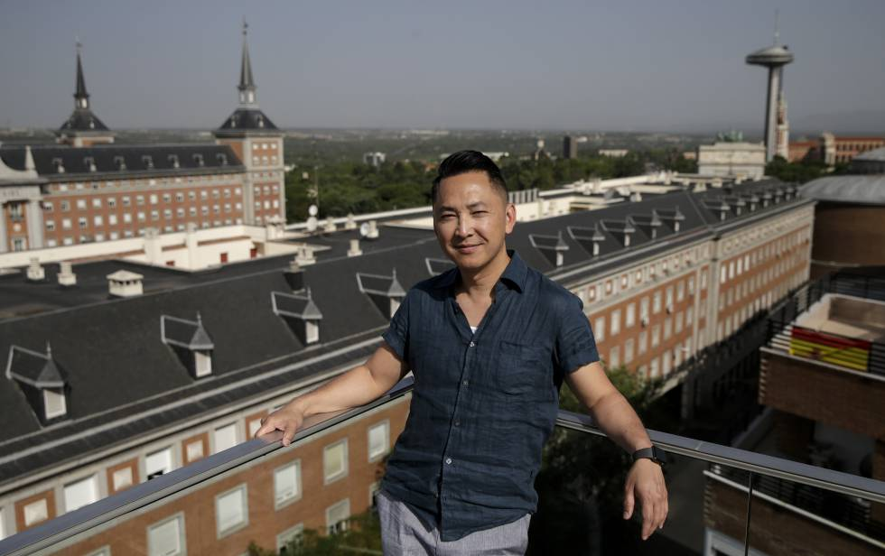 The writer Viet Thanh Nguyen, last month, in Madrid.