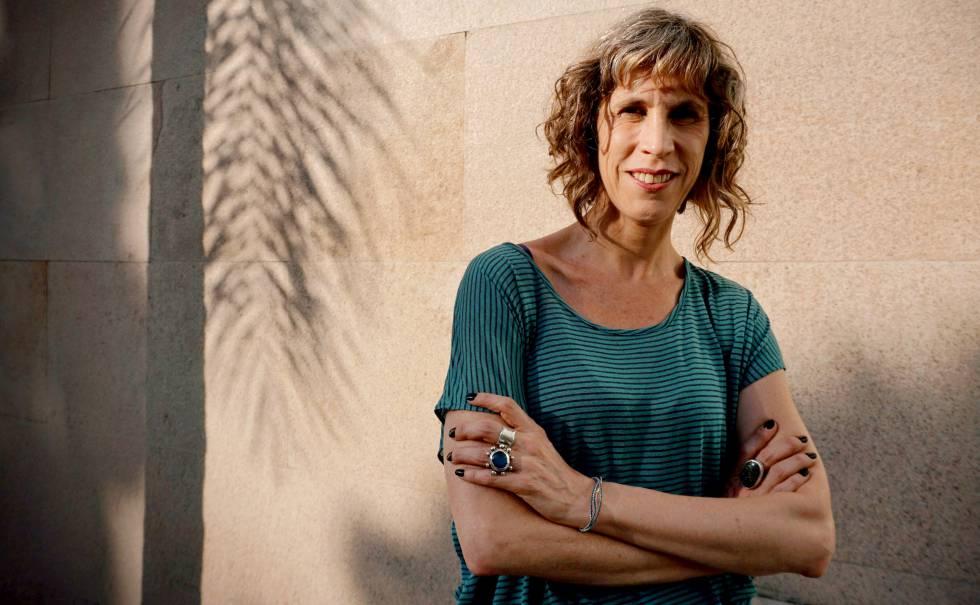 La escritora Nona Fernández.