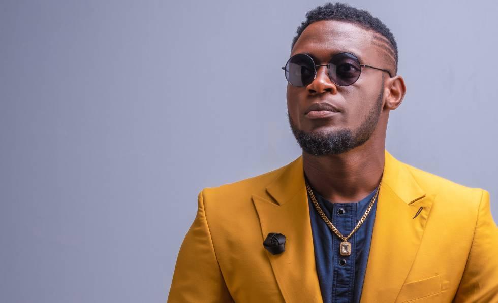 El cantante camerunés Salatiel.