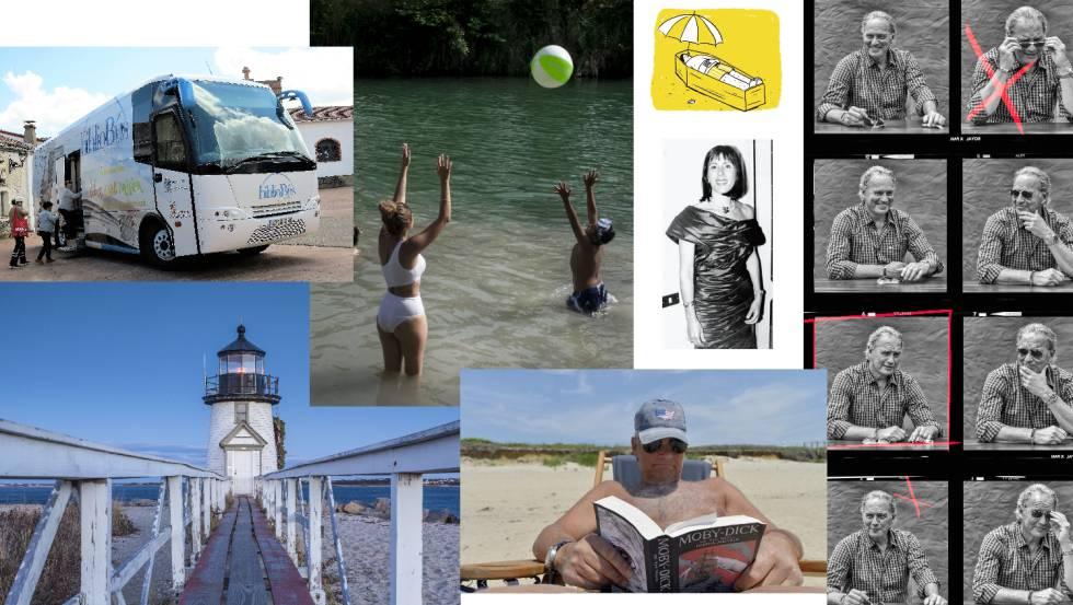 Ilustraciones y fotografías de algunas series y reportajes de la Revista de Verano de EL PAÍS.