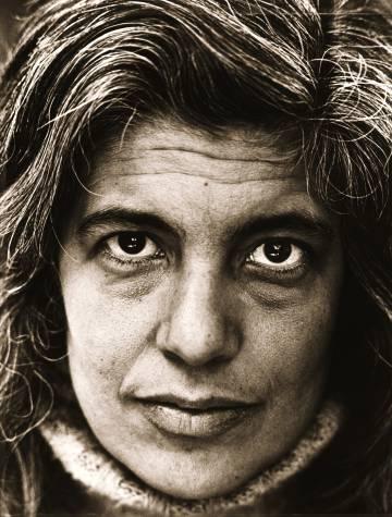 Retrato de Susan Sontag en 1979.