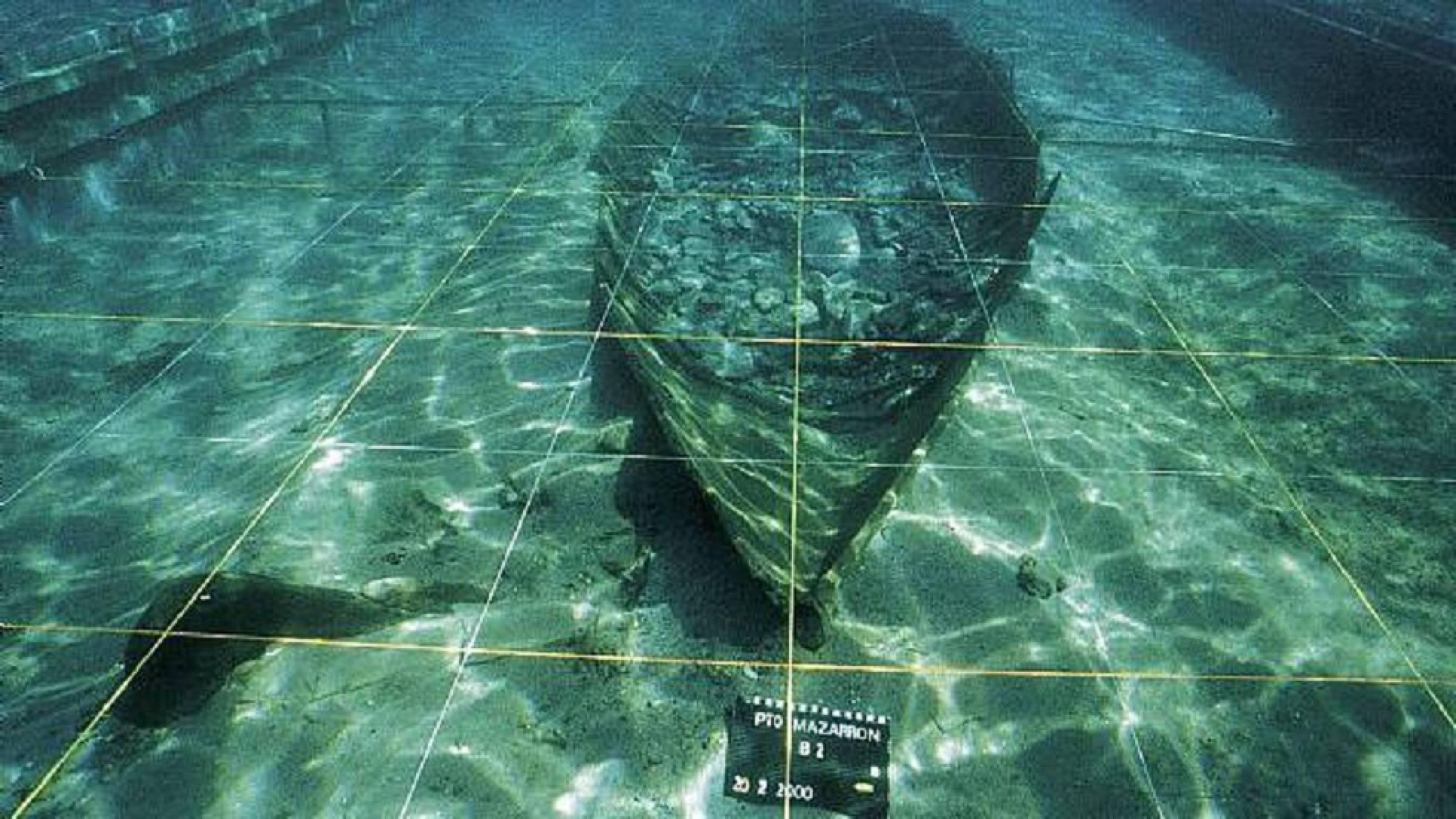 Los arqueólogos preparan el rescate de una barca fenicia hundida en Murcia 1565961547_361648_1566212686_noticia_normal_recorte1