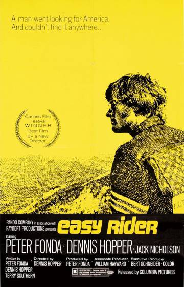 El cartel de 'Easy Rider'.