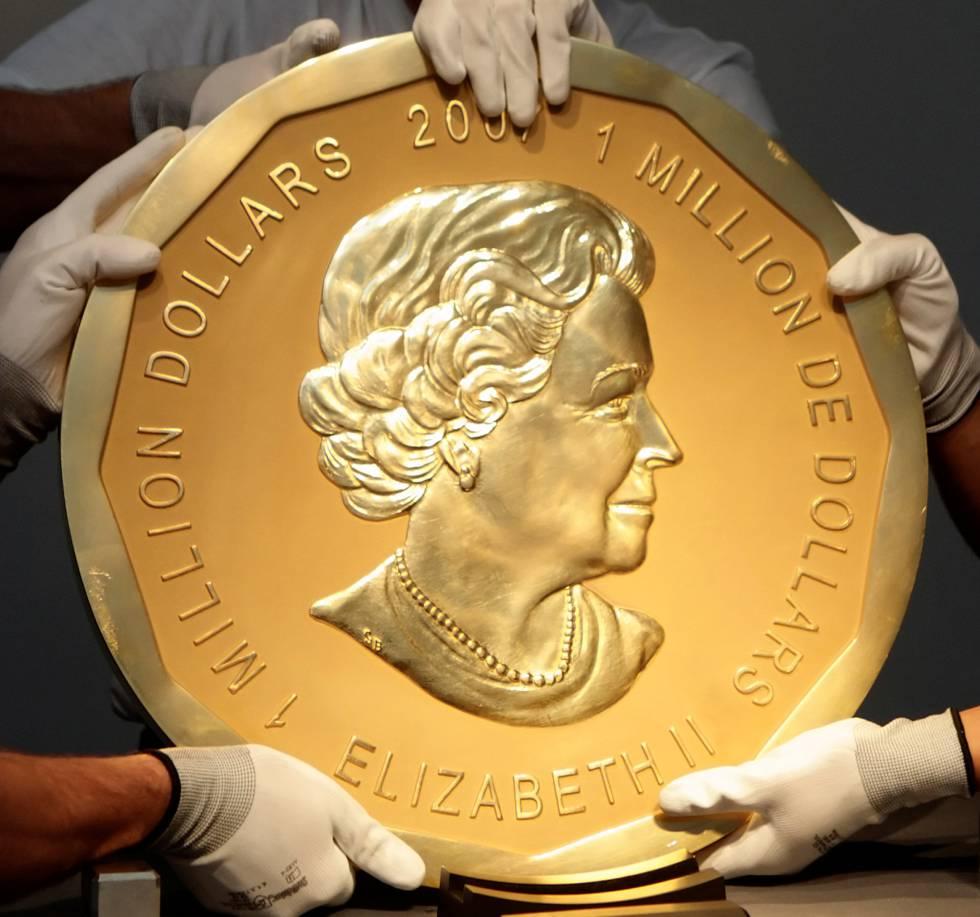 El increíble robo de la moneda de oro de 100 kilos