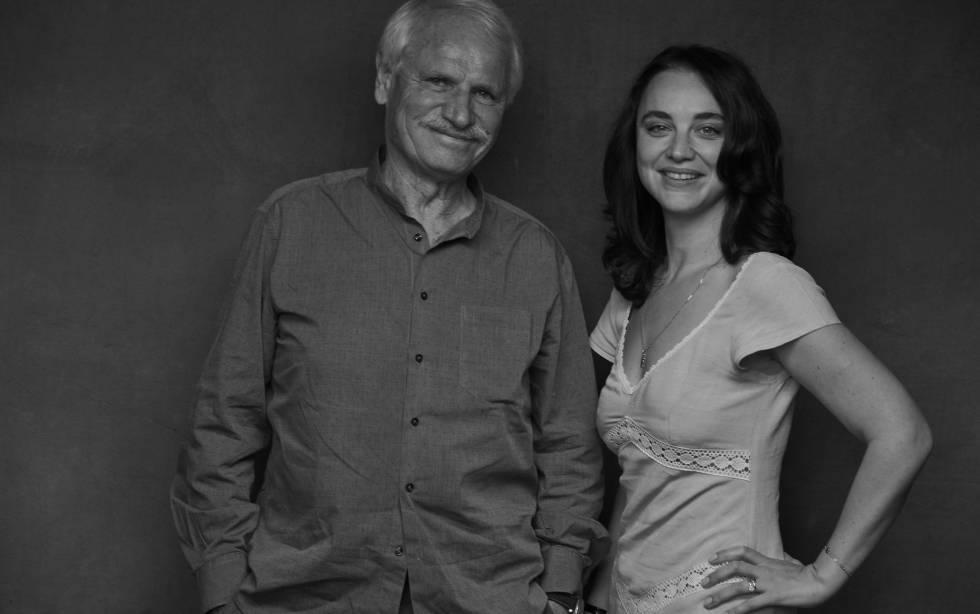 Yann Arthus-Bertrand y Anastasia Mikova.