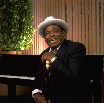 El músico Willie Dixon, en Los Ángeles en 1991.