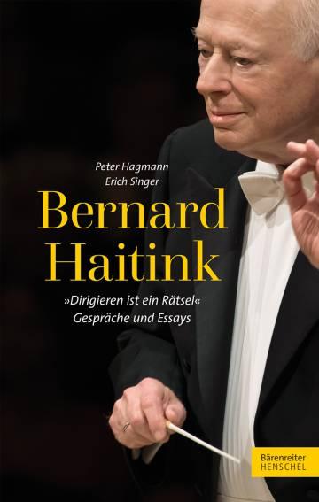 Cubierta del libro dedicado a Bernard Haitink presentado en el Festival de Lucerna.