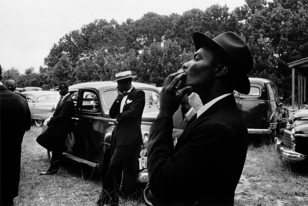 Funeral en St.Helena, en Carolina del Sur, en 1955, de 'The Americans'.