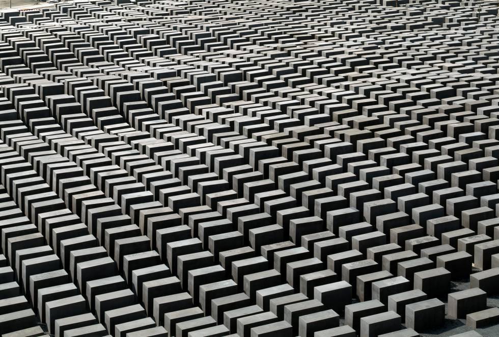 Memorial del Holocausto, en Berlín, obra de Peter Eisenman.