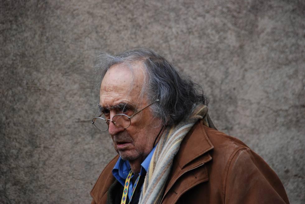 Rafael Sánchez Ferlosio, en Coria el 31 de diciembre de 2009.