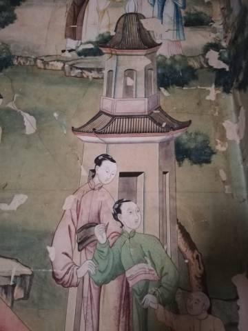 Escena china en el palacio Torremejía (Almagro)