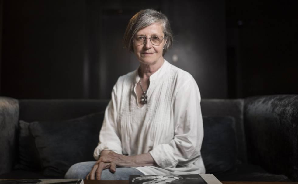 La escritora británica Julia Boyd en Barcelona.