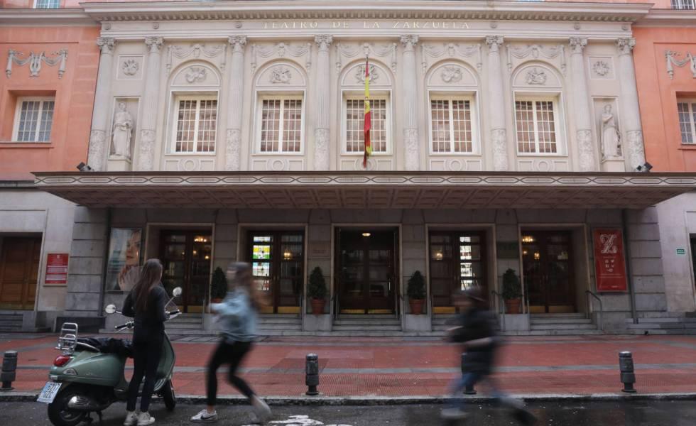Resultado de imagen para Fotos del Teatro de la Zarzuela.