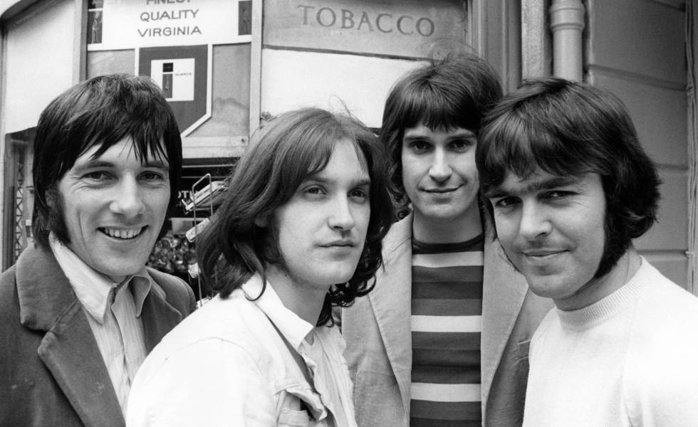 The Kinks, in a 1969 file image.