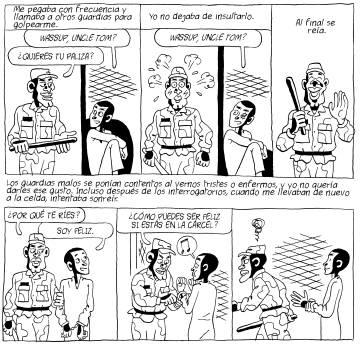 Viñetas de 'Guantánamo Kid. La historia verdadera de Mohammed El-Gorani'.