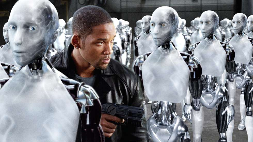 Will Smith, en la película 'I, Robot' (2004), de Alex Proyas.