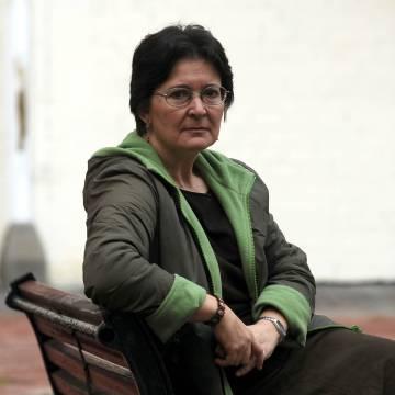 La poeta gallega Pilar Pallarés, en 2006.