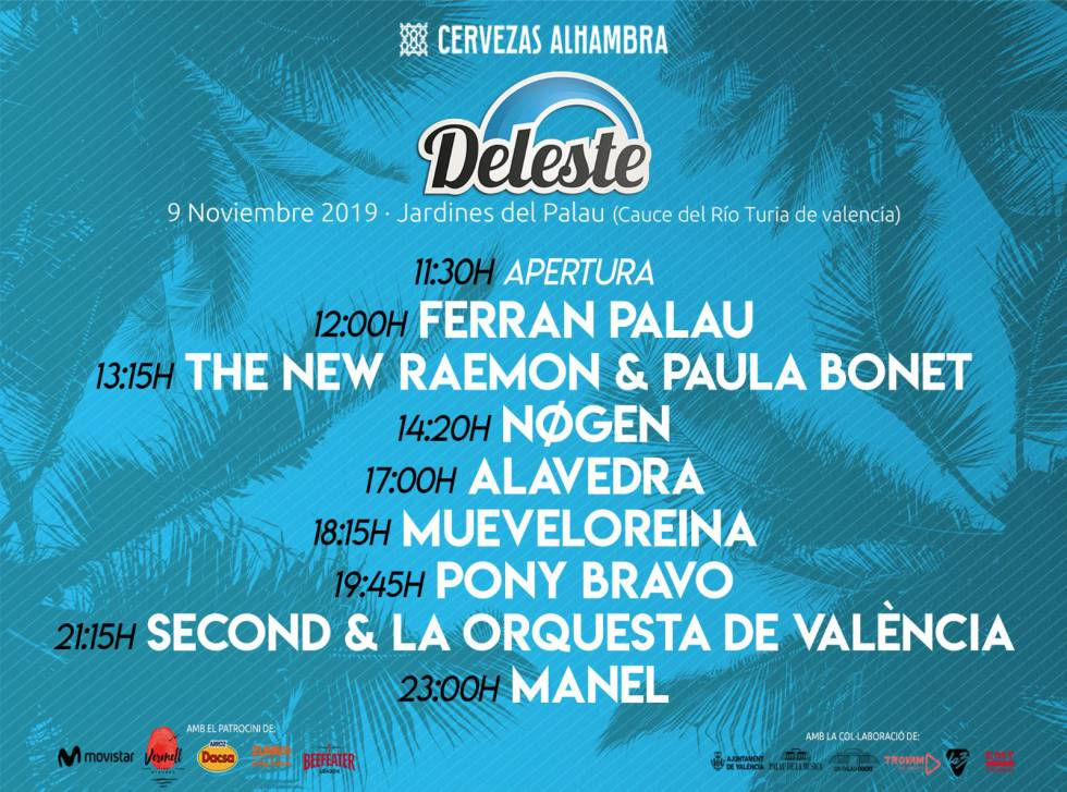 Final Poster of the Deleste.