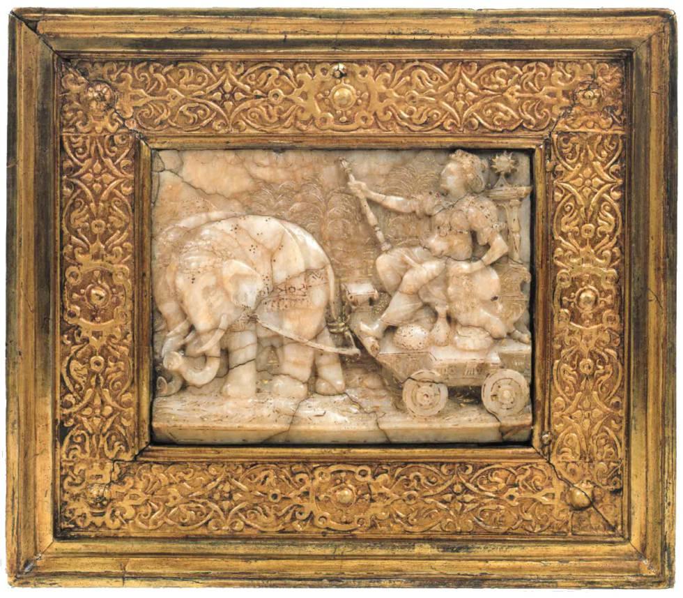 Allegory of Africa. Mechelen (Belgium). XVII century.