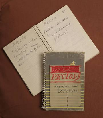 One of the unpublished notebooks of Ferlosio.