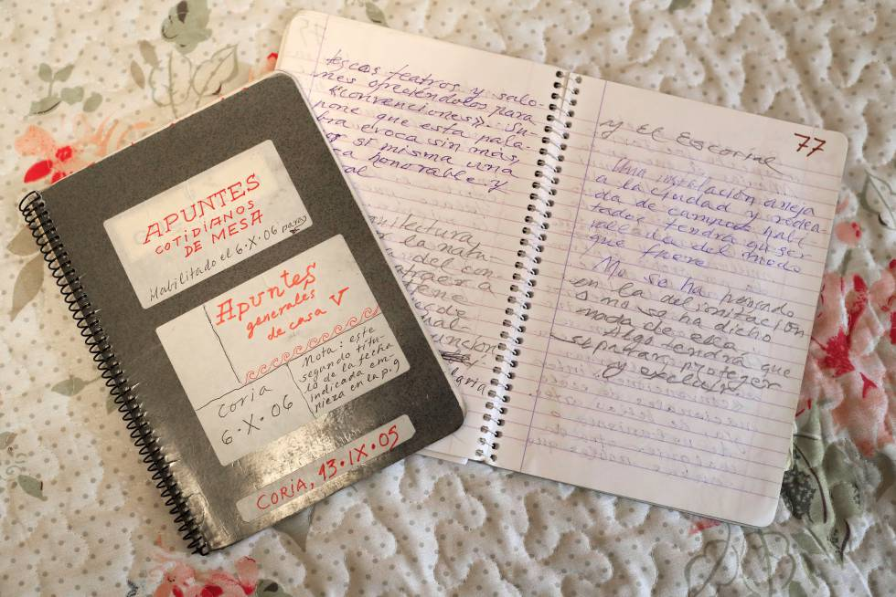Two other notebooks of the writer.
