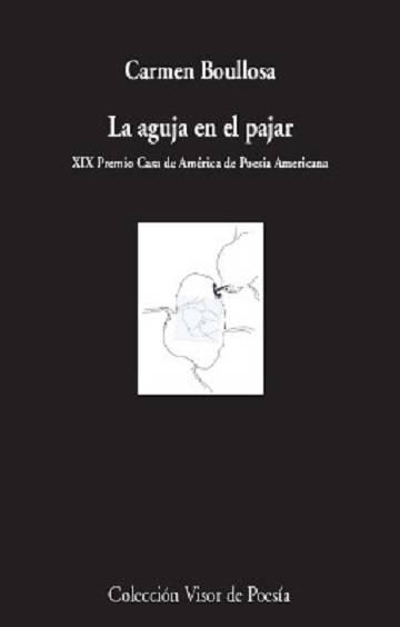 Cubierta de 'La aguja en el pajar', de Carmen Boullosa, editado por Visor.