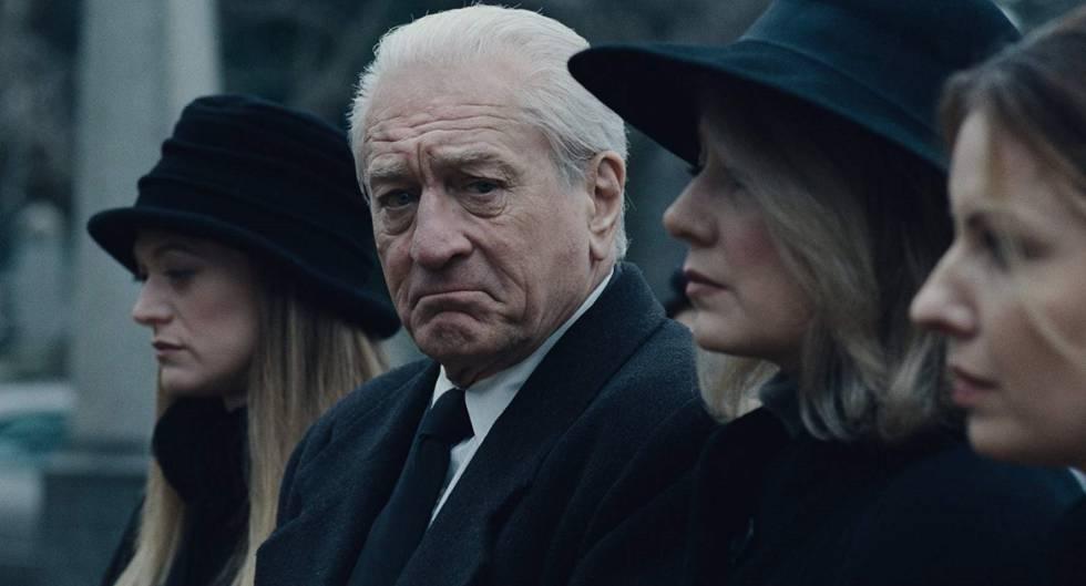 Robert De Niro en 'El irlandés'.