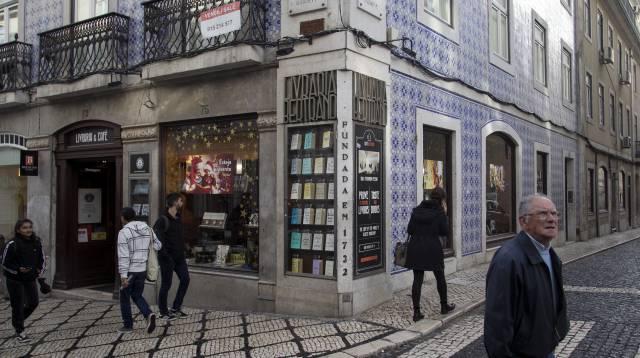 La librería Bertrand, en Lisboa, que abrió en 1732.