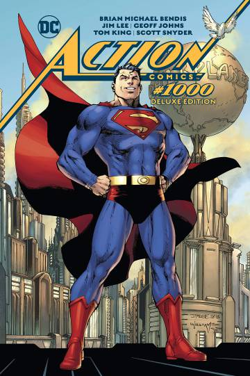 Cover of 'Action Comics # 1000', the best selling comic of 2019.