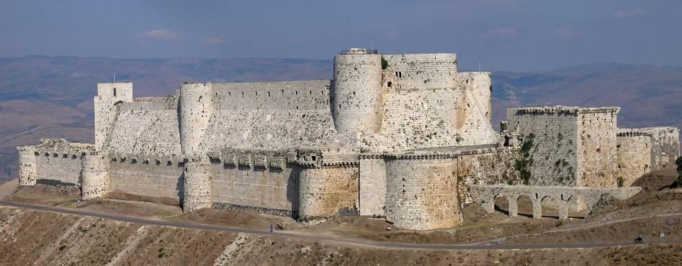 El crac de los Caballeros, castillo sirio de los hospitalarios.