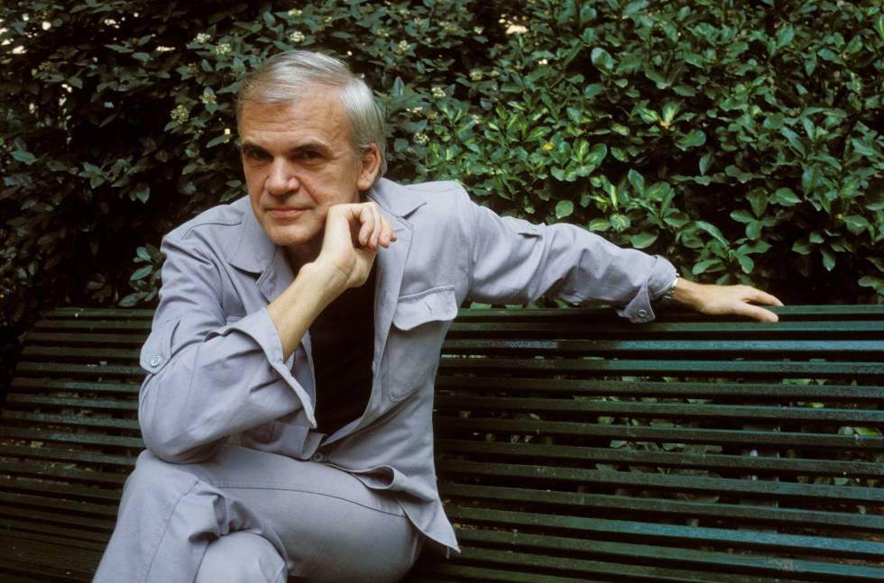 El escritor Milan Kundera.