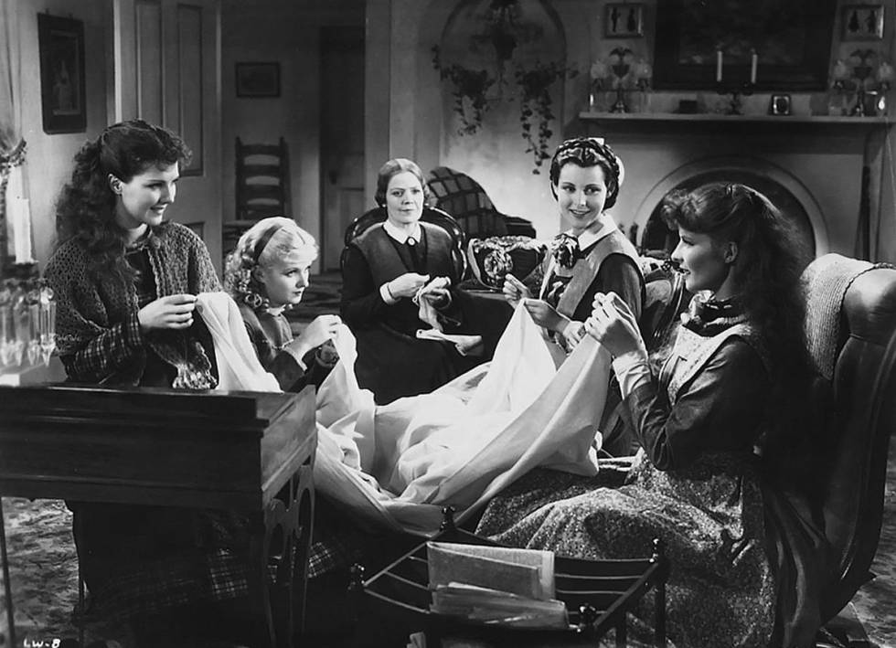 'Little Women' in the first version for the cinema, directed by George Cukor in 1933.