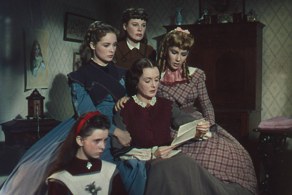 The Technicolor comes to 'Little Women' with the 1949 version of Mervyn LeRoy.