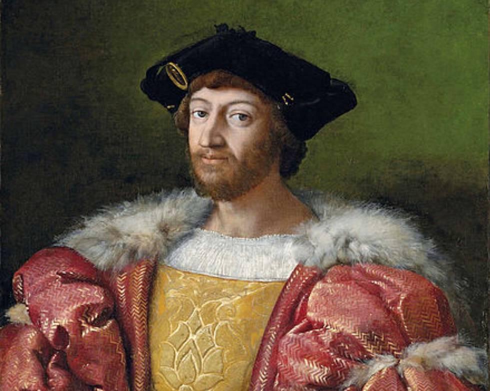 'Retrato de Lorenzo di Medici, duque de Urbino', obra de Rafael Sanzio.