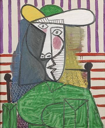La obra de Picasso. 'Busto de una Mujer'.