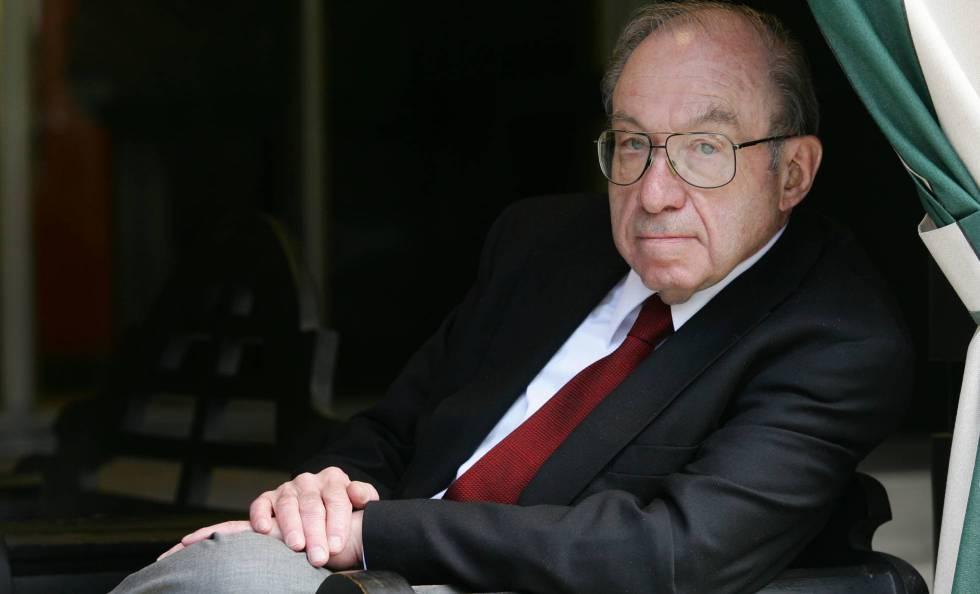 Raul Hilberg, fotografiado en Madrid en 2005.