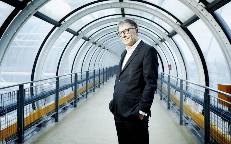 The president of the Pompidou Center, Serge Lasvignes.