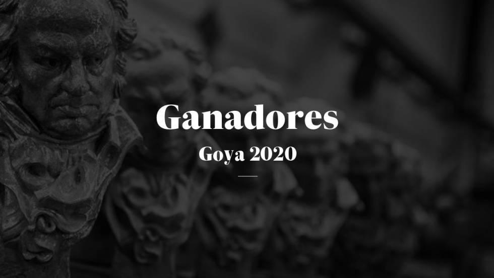 Los ganadores de los Premios Goya 2020