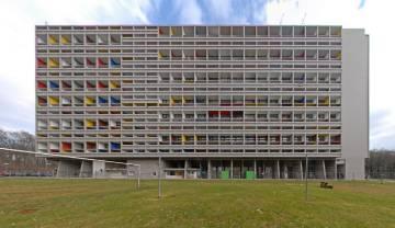 Unité d'Habitation, in Marseille, by Le Corbusier.