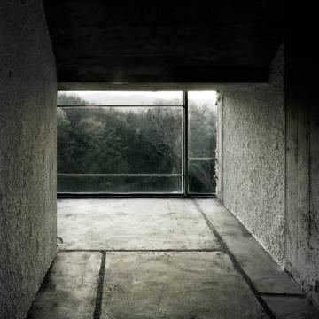 Berghain techno club interiors.